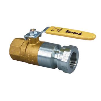 Ball valves for gas 2302