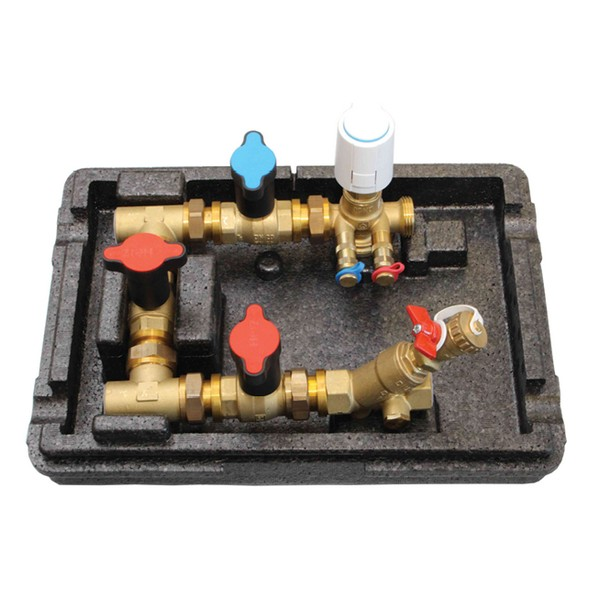 Pressure Independent Connect-4 with insulation PN 16