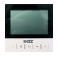 Room Economic thermostat with digital display