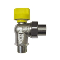 Ball Valve for connecting devcies, angle 2362