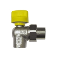 Ball Valve for connecting devcies, angle 2363