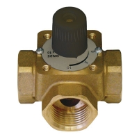 Three-Port Mixing Valve with handle