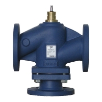 Three-Port Flanged Valve
