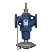 Flanged Flow Controller with integrated Control valve