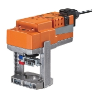 Actuators for control valves, modulating (for 2-port, 3-way and PICV)