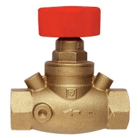Variable Orifice Double Regulating Valve, Straight model