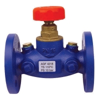Circuit Regulating Valves for Differential Pressure Measurement, flanged version