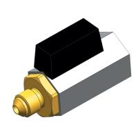 Ball valve with nipple