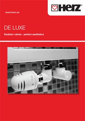 DE LUXE <br> Radiator valves
