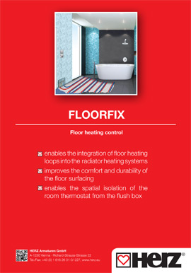 FLOORFIX <br> Floor heating control