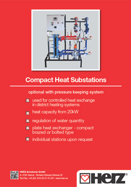 Compact Heat Substations