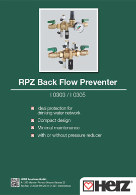 RPZ Back Flow Preventer